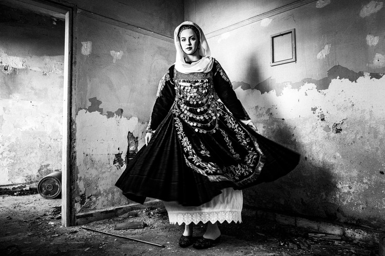Bridal costume of Salamina, Attica, Greece