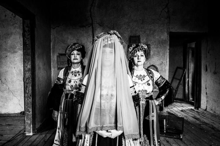 Karagouna costumes of Trikala, Glinos, Thessaly, Greece