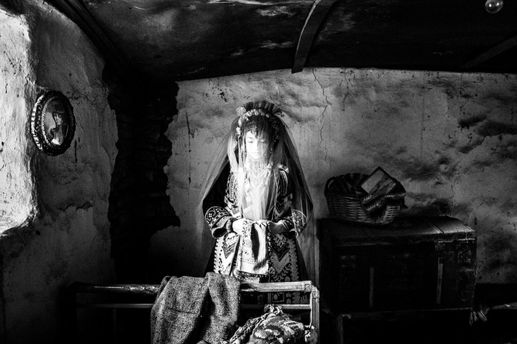 Bride at Isaakion, Thrace, Greece