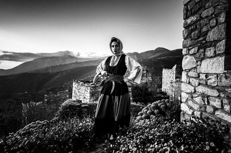 Vathia, Mani, Peloponnese, Greece