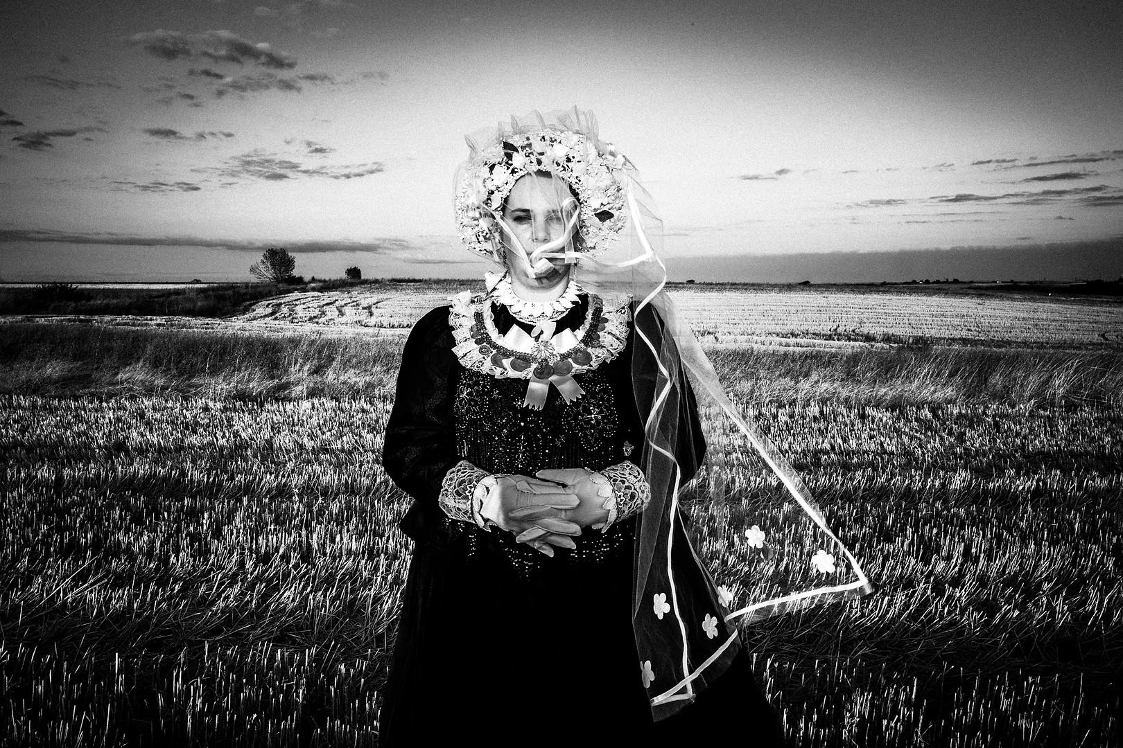 Bride in Vyssa, Thrace, Greece