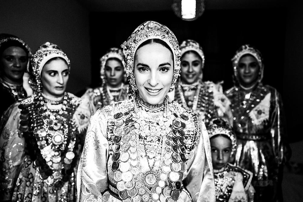 The wedding day in Diafani, Olympos, Karpathos