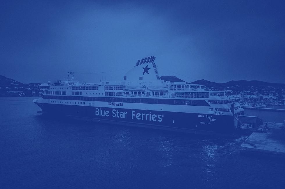 Blue Star Ferries Delos Ship
