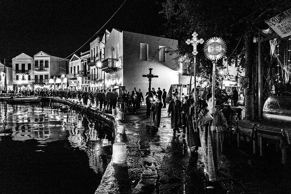 Easter in Kastellorizon, story and photos by photographer George Tatakis