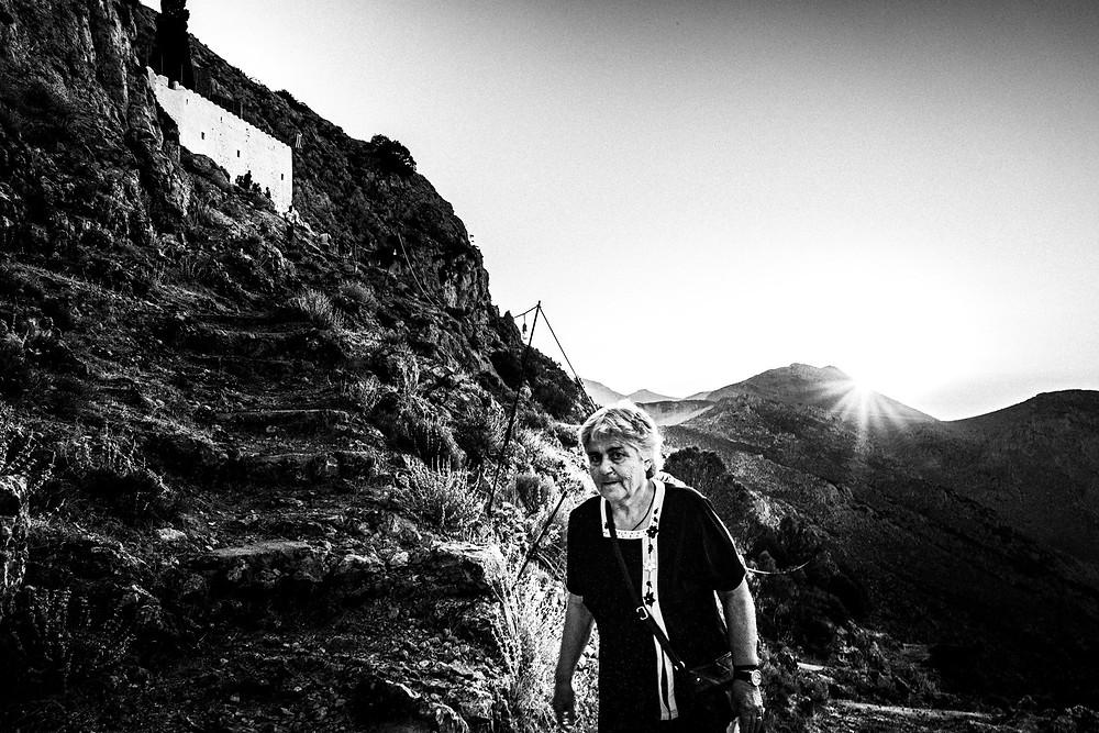Hiking to the Monastery Greece. South Aegean. Kalymnos. © George Tatakis