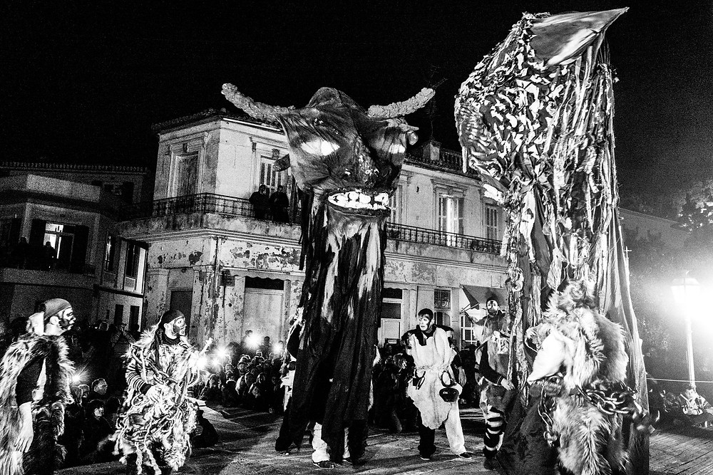 The Ghost of Charmaina Carnival of Amfissa