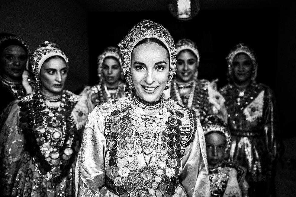 Bride in Diafani, Olympos, Karpathos, Greece, by photographer George Tatakis