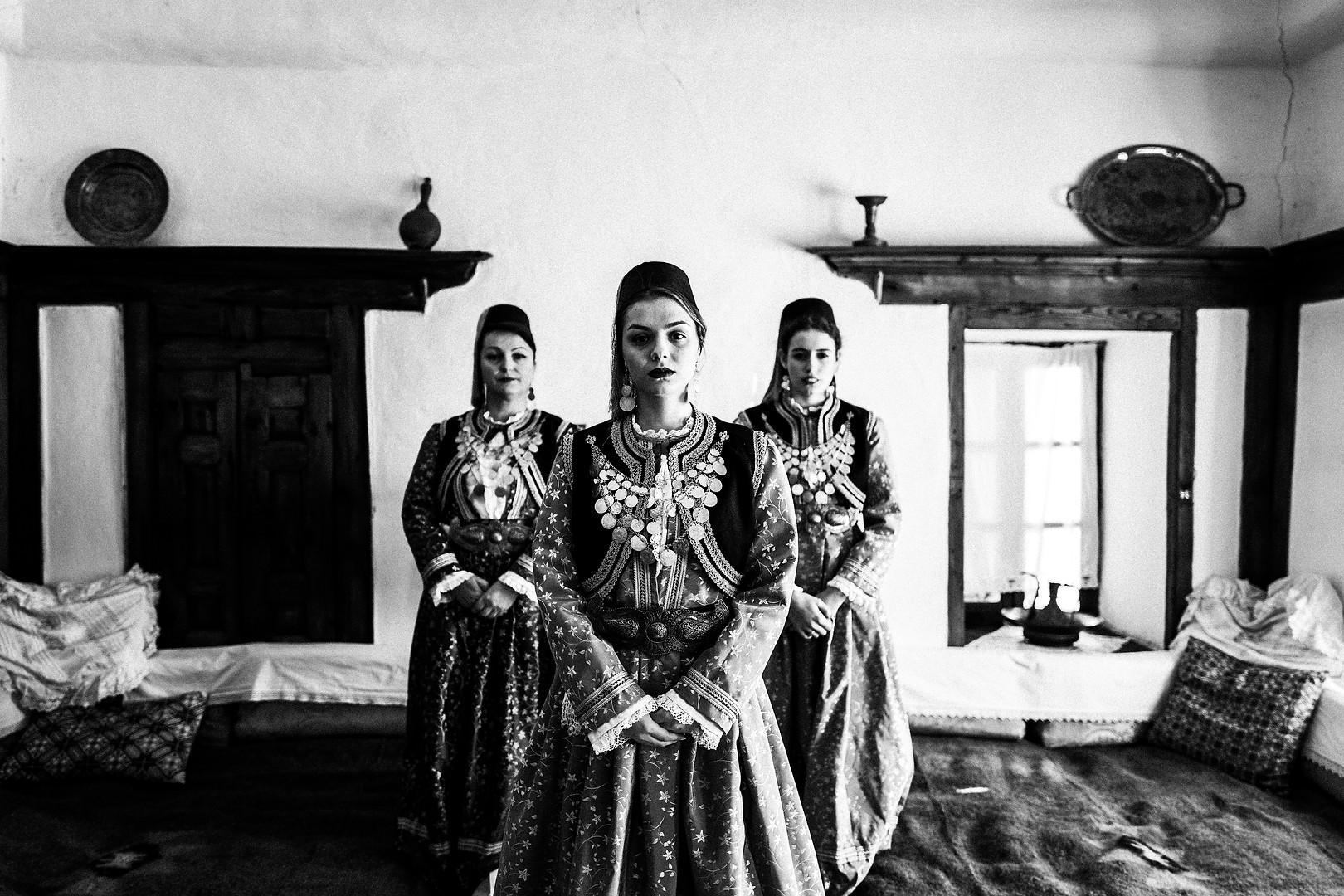 Costume of Kastoria, W. Macedonia, Greece