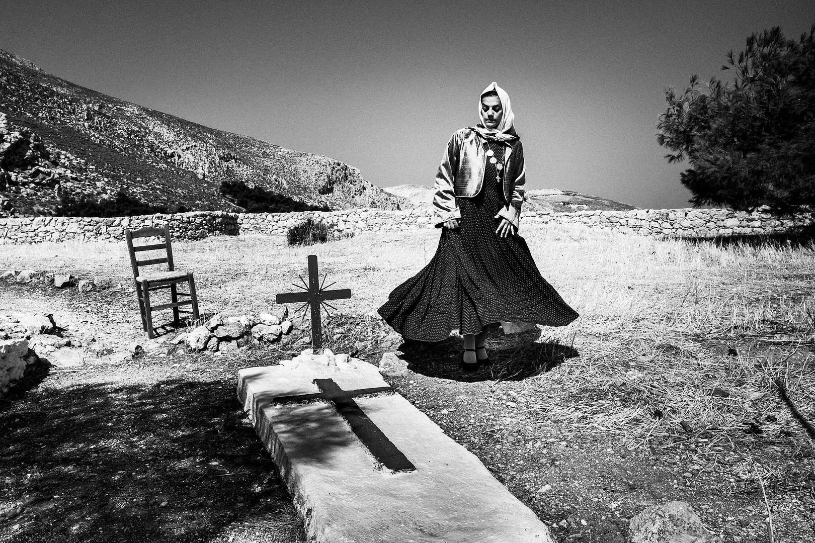 Monastery, Kalymnos, Dodecanese, Greece