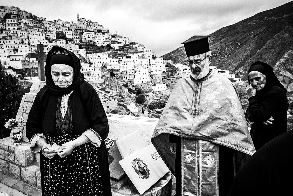 The Litany on Easter Tuesday in Olympos, Karpathos