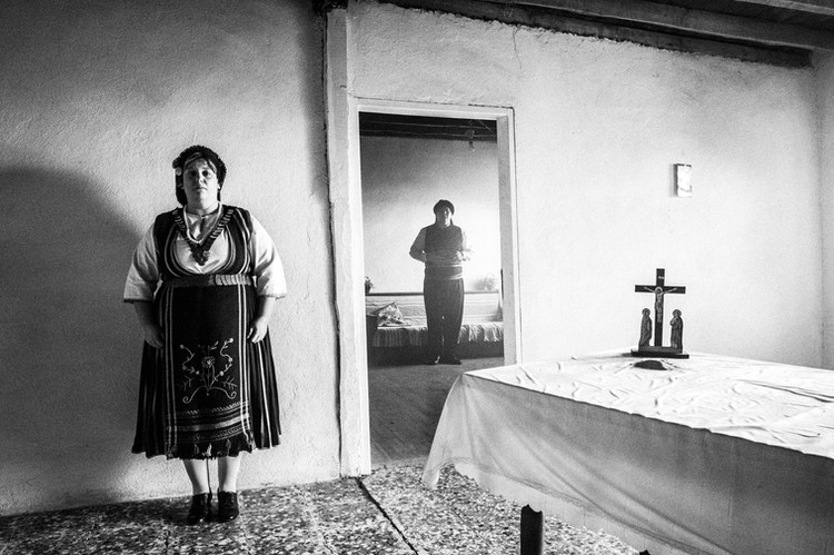 Husband & wife, Mani, Thrace, Greece