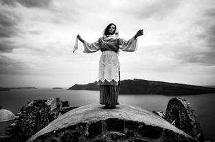 Saint Averky on Santorini island