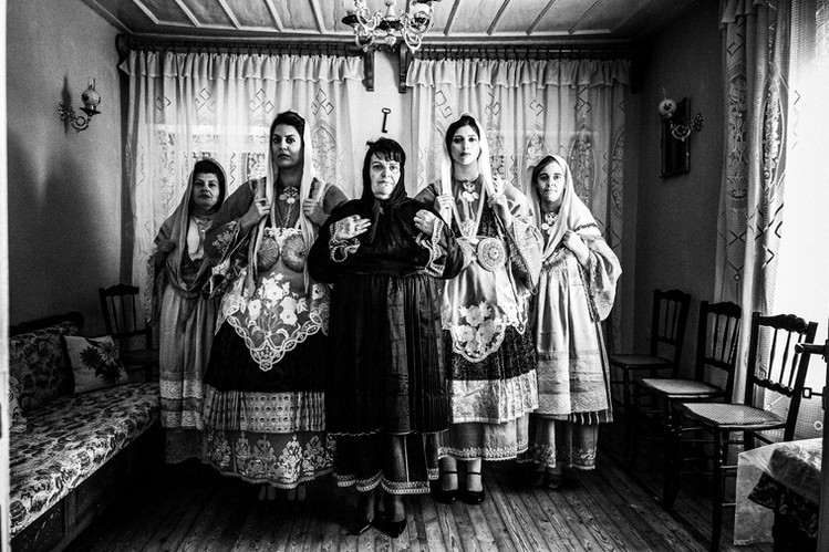 Traditional costumes of Trikeri, S. Pelion, Thessaly, Greece