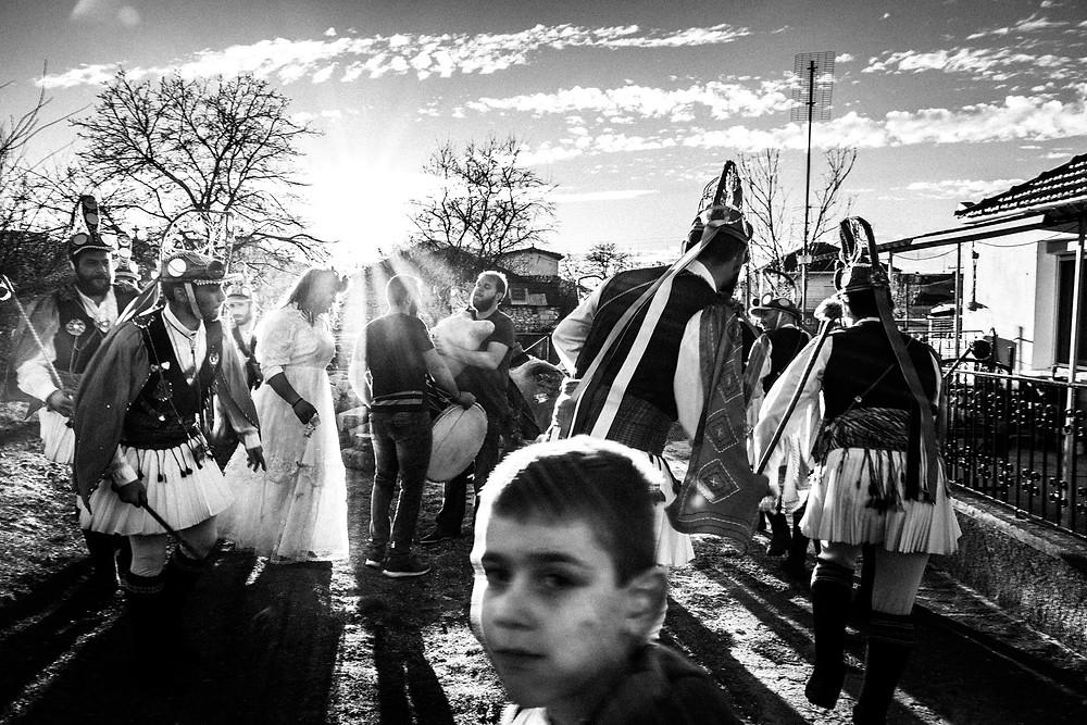 Kotsamania in Tetralofos Greece. Western Macedonia. Tetralofos. © George Tatakis