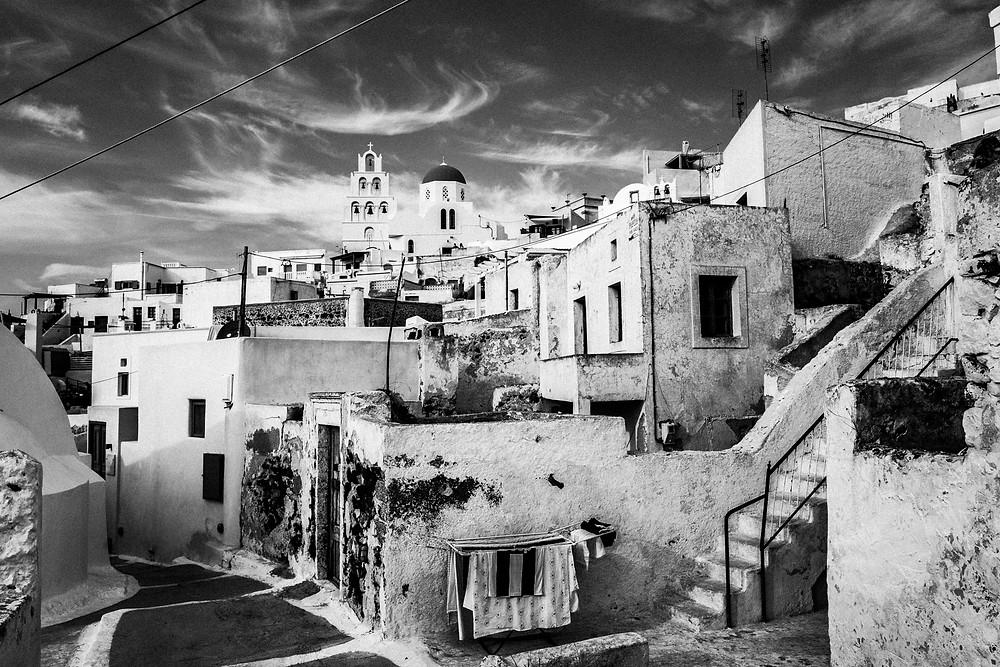 Saint Averky on Santorini island by George Tatakis