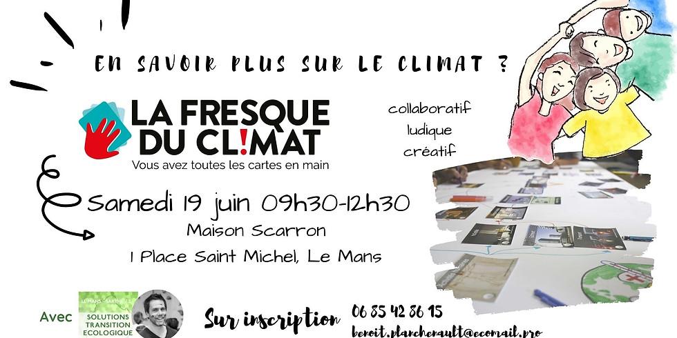 Atelier Fresque du Climat - Sur Inscription