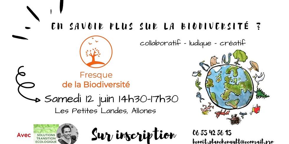 Atelier Fresque de la Biodiversité - Sur Inscription