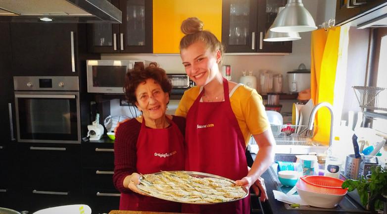 cooking experience Ortigia