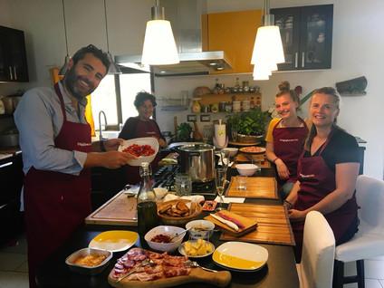 Cooking lesson Ortigia