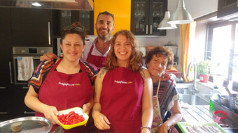 Cooking lesson in Sicily