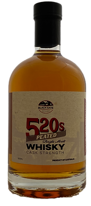 520s PEATED CS SINGLE MALT WHISKY
