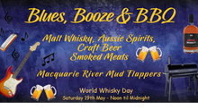 Blues, Booze & BBQ - Celebrating World Whisky Day