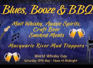 Blues, Booze & BBQ - Celebrating World Whisky Day