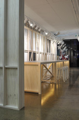 shop fitout using pine and ply