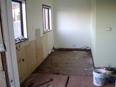 demolition of existing kitchen