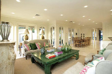 large formal living areas