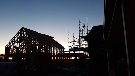 Framework scaffolding sunset