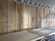 architectural designed display frames