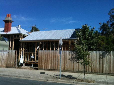 renovations to weatherboard home