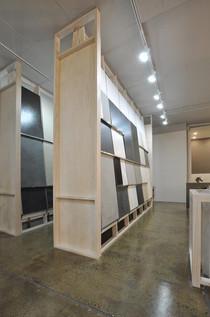 timber display stands
