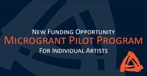 NEW: BCAC Microgrant Pilot Program - for Individual Artists/Creators