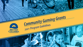 2021 BC Community Gaming Grant - changes & worksheets