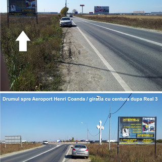 drum aeroport-centura 4x3m intrare girat