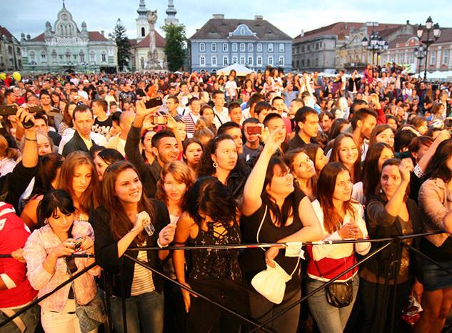 Concert Piata Unirii
