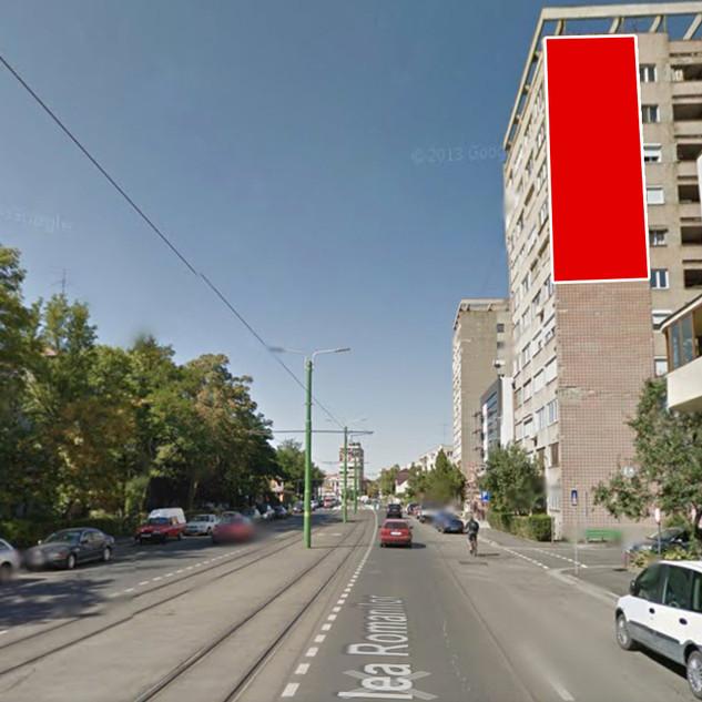 Calea Romanilor, Bl. H1 - fața A (5,2m x