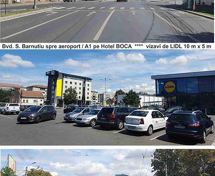 Hotel BOCA 4stele vizavi de LIDL 10x5m i