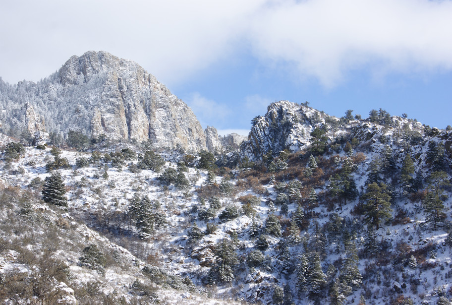 Winter on La Luz Trail
