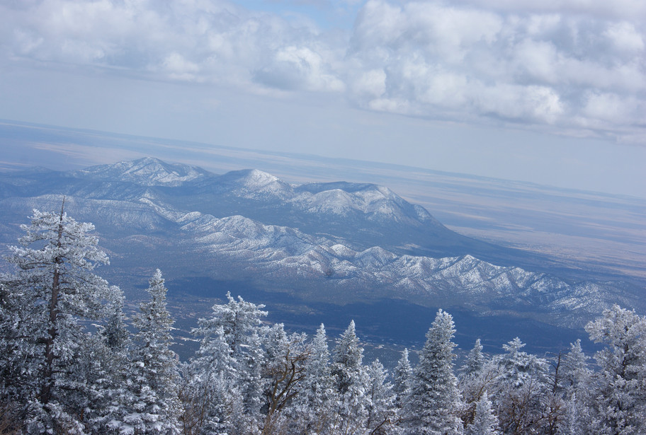 Eastside of Sandia Mountains