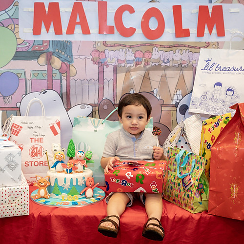 Malcolm's 2nd Birthday Party