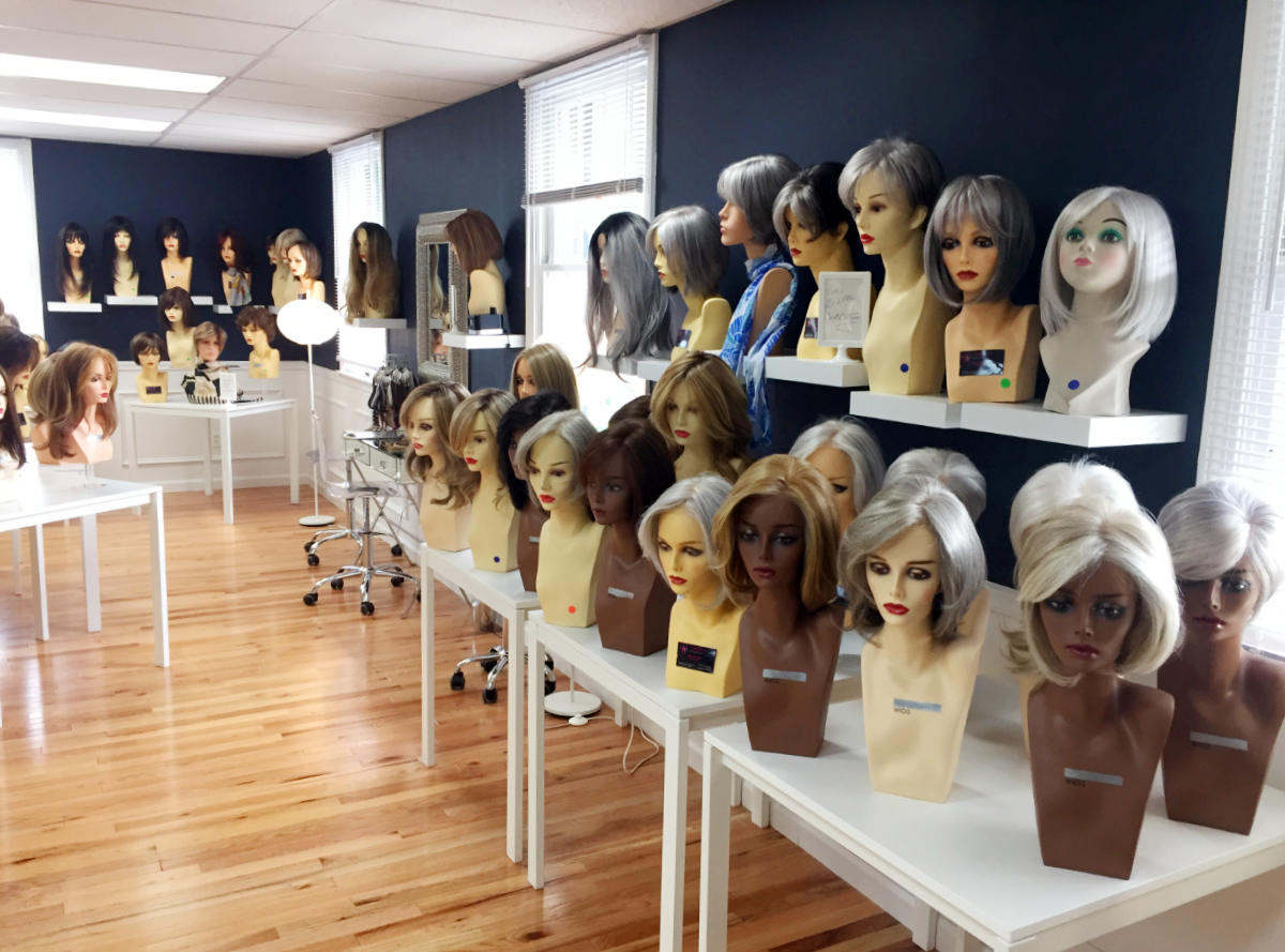 Wigs in all colors