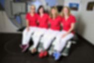 das Team in der Strahlentherapie