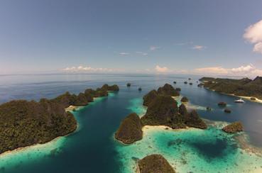 Superyachts experience Raja Ampat