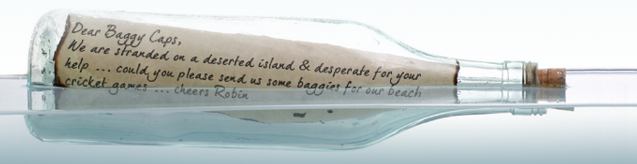 Baggy Caps Message in a Bottle