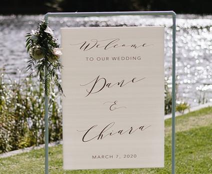 Wedding Ceremony Poster
