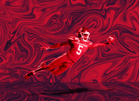UH Football Sports Graphic