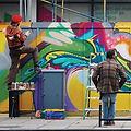 Graffiti artistas
